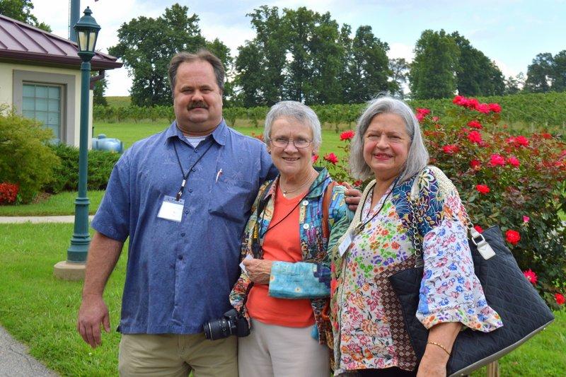 Kent Moore, Dot Mason, Joan Anderson